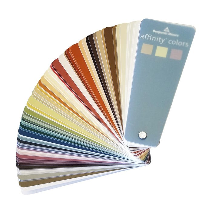 Benjamin Moore Affinity Color Collection Fan Deck