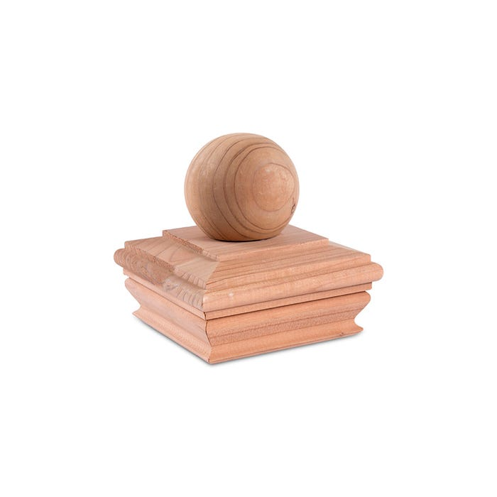 Ball Top Cedar Cap, 4