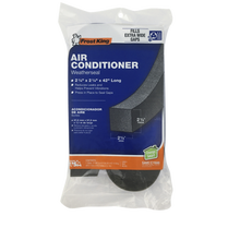 Frost King Air Conditioner Weatherseal, Black