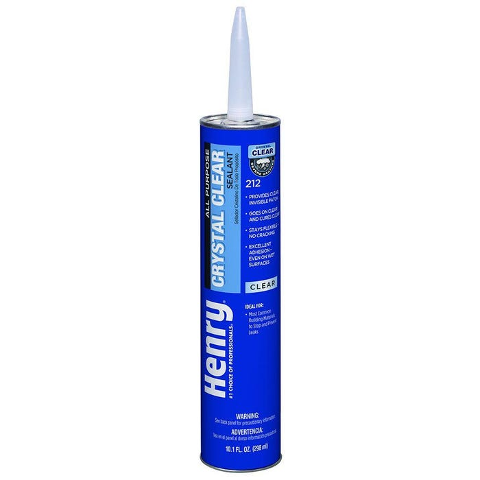 Henry Blueskin 212 All Purpose Clear Sealant, 10.1 oz.