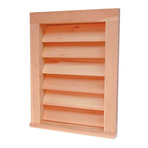 Red Cedar Gable Louvers