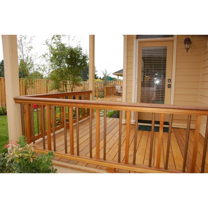 Red Cedar Handrail (Top Rail, Bottom Rail)