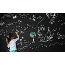 DIY Kit: Chalkboard Wall