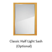 CDC Easy-Change Glass Sash, Insert Only, for Classic Design Wood Combination Door, Fits 36 in. x 81 in.