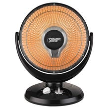 PowerZone Oscillating Parabolic Heater, 400/800 W