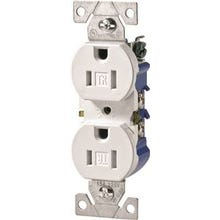 Eaton Wiring Devices TR270W-BOX Duplex Receptacle, 15 A, 2-Pole, 5-15R, White