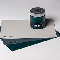 "Curator Irish Design Collection A5 Color Sample Swatch (8"" x 6"" Card)"