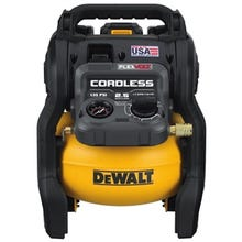DeWALT DCC2560T1 60V MAX* FLEXVOLT® 2.5 Gallon Cordless Air Compressor kit