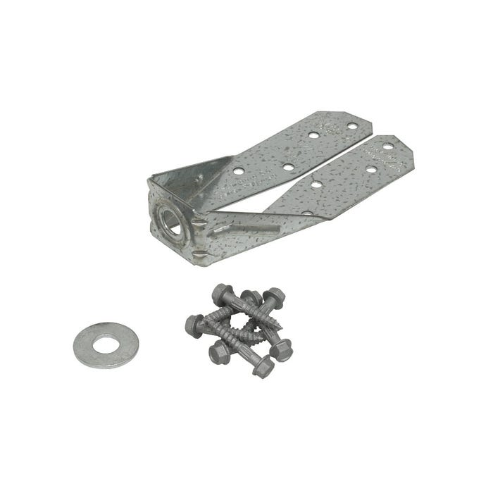 DTT ZMAX® Galvanized Deck Tension Tie for 2x with 1-1/2 in. SDS Screws (DTT2Z)