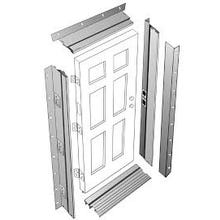 Primed White - JELD-WEN adjustable steel jamb 90 Minute Fire Rated