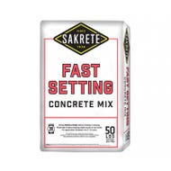 SAKRETE Fast Setting Concrete Mix, 50 lb.