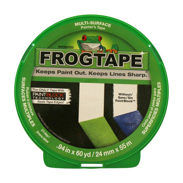 FrogTape, Multi-Surface Painting Tape, 0.94 in. X 60 yds.