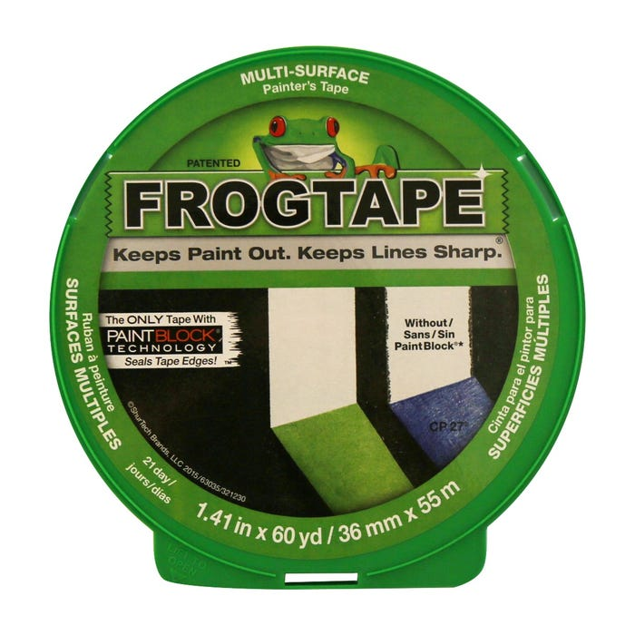 FrogTape, Multi-Surface Painting Tape, 1.41 in. X 60 yds.