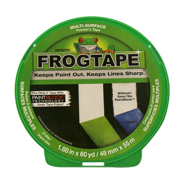 FrogTape, Multi-Surface Painting Tape, 1.88 in. X 60 yds.