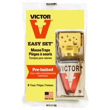 MO35 Easy Set Mouse Trap 2 Pack