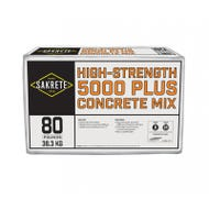 Sakrete 5000 Plus Concrete Mix, 80 lb.