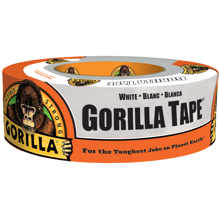 White Gorilla Tape 1.88 in. X 30 yds