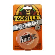 GORILLA TOUGH & CLEAR MOUNTING TAPE 1 in. X 60 in.