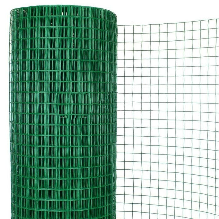 Swimming Pool Enclosure Vinyl Wire Fence, 50 ft. Roll