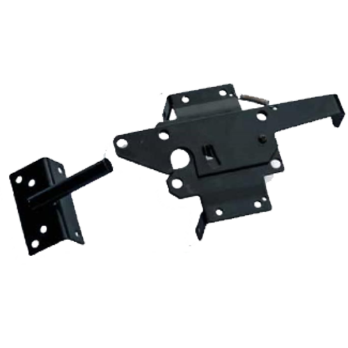 Black SS Gate Latch for Vinyl Fencing