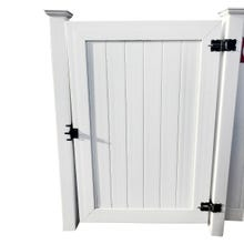 White Vinyl Privacy Gate, 4' X 6' Panel