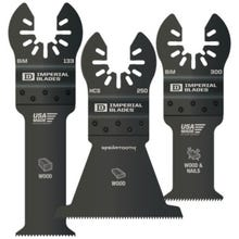 IMPERIAL BLADES IBOAV1-3 Oscillating Tool Blades, 3 pack