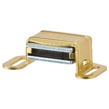 Schlage Ives 325A3 Magnetic Catch, Aluminum, Brass