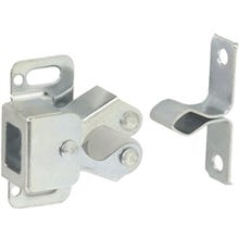 Schlage Ives SP330F2C Double Roller Catch, Steel, Zinc