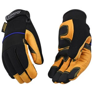 Kincopro™ Lined Premium Grain Goatskin & Synthetic Hybrid with Pull-Strap