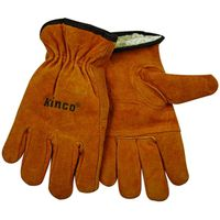 Kinco Adult Medium Unlined Suede Cowhide Leather Palm Gloves