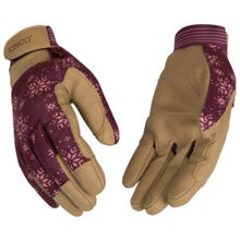 Kincopro™ Lined Burgundy Synthetic with Pull-Strap