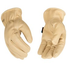 Kinco Hydroflector™ Lined Water-Resistant Grain Cowhide Driver Gloves Large