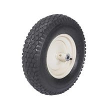"16"" Heavy Duty Wheel Assemblies with Grease Fitting & Bearing and 3"" Wide 4-Ply Knobby Tire"