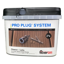 Pro Plug® Fiberon Screw & Plug System in Graphite