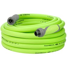 Flexzilla Garden Hose, Male x Female, 5/8 in ID, 50 ft L, 150 psi at 70 deg F, Flexible Hybrid Polymer, Zilla Green