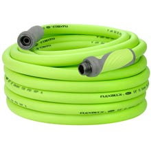 Flexzilla Garden Hose, Male x Female, 5/8 in ID, 75 ft L, 150 psi at 70 deg F, Flexible Hybrid Polymer, Zilla Green