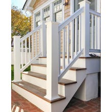 Intex Rail System Kit, Liberty RS60 Series - 2-3/4 in. Graspable Rail, 36 in. x 96 in., Stair Rail