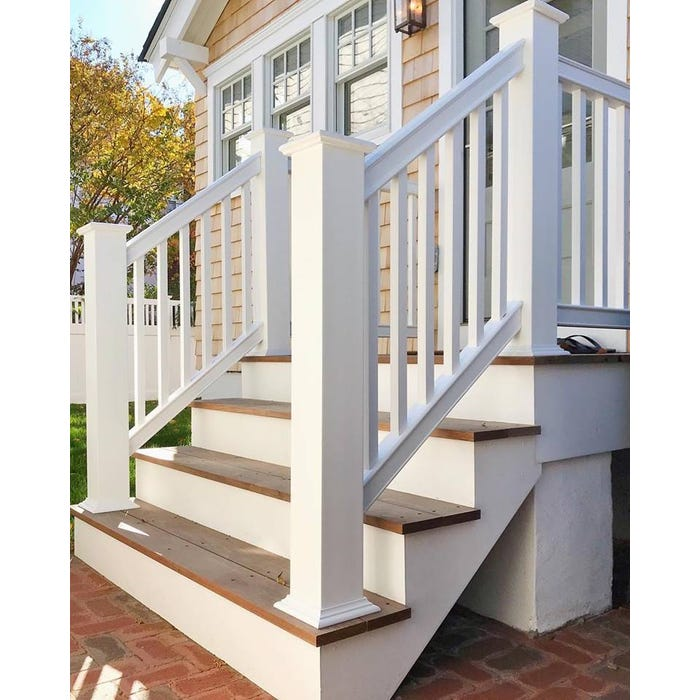 Intex Rail System Kit, Liberty RS60 Series - 2¾ in. Graspable Stair Rail, 36 in. x 96 in.