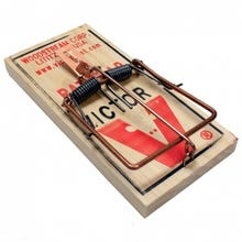 VICTOR Rat Mouse Snap Trap Reusable Spring Pedal Rodent Pest Control