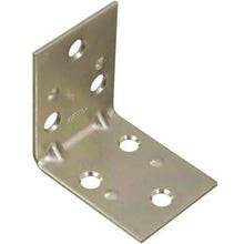National Hardware MP121BC Series N285-528 Corner Brace, 0.07 in, Steel, Zinc