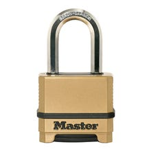 Master Lock Magnum M175XDLFCCSEN Combination Padlock, 2 in W Body, Steel