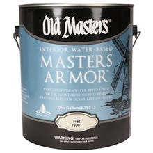 Old Masters,  Masters Armor® Clear Finish