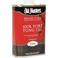 Old Masters 100% Pure Tung Oil, #90004, Quart