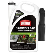 Ortho Ground Clear Weed and Grass Killer, Liquid, Spray Application, 1 gal Bottle