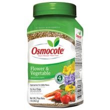 Miracle-Gro Osmocote Smart Release Flower and Vegetable Plant Food, Solid, 1 lb
