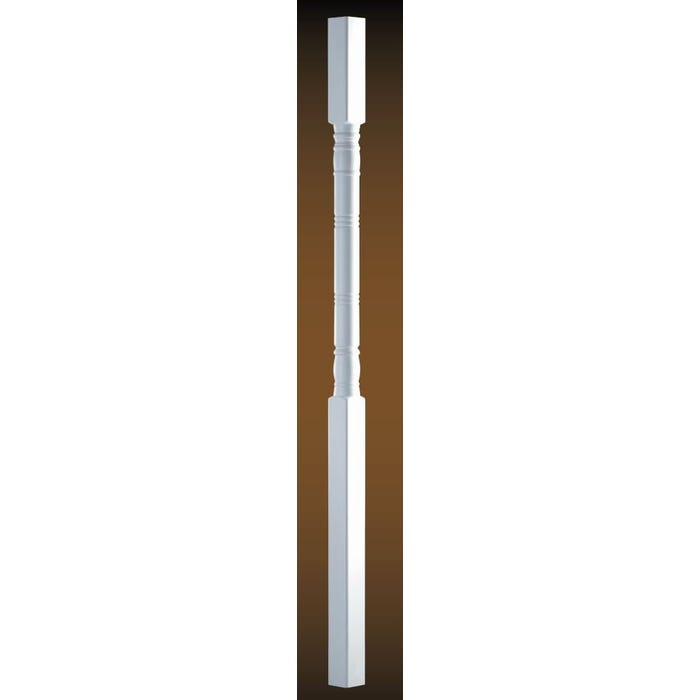 8 ft. Turncraft Colonial Primed Wood Porch Posts