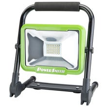 PowerSmith Rechargeable Foldable Work Light with Magnetic Base, 20 W, Lithium-Ion Battery, LED Lamp