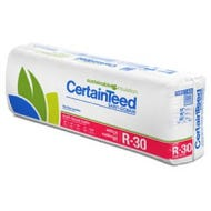 CertainTeed Sustainable Insulation - Kraft Faced Fiberglass, R-30, 10 in. x 16 in. x 48 in. (58.67 sq. ft / bag)