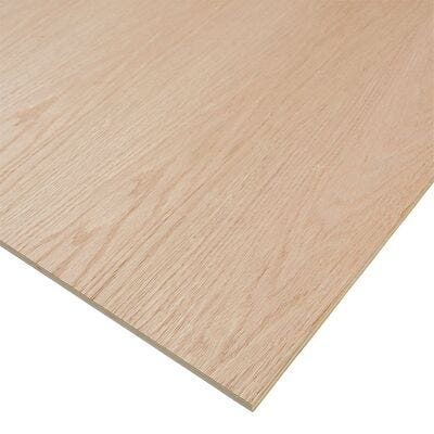 Red Oak Plywood, 4 ft. x 8 ft.