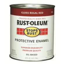 Rustoleum Stops Rust Regal Red Protective Enamel Quart